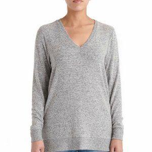 Lucky Ladies' V-Neck Tunic Gray New